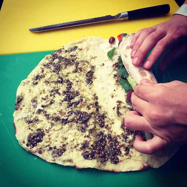 Did you know we use Palestinian Zaatar from @zaytoun_cic in our Cocktail and Zaatar saj? By doing so we help support the resilience and livelihoods of Palestinian farmers under occupation through fairly traded artisan foods. Check out the amazing work they do, you can also buy their products online: www.zaytoun.org #fairtrade #palestine #streetfood #foodie #foodporn #soulfood #zaatar #zaytoun #london #beirut #bliss #saj #community #artisan #food #foodforthought #middleeast