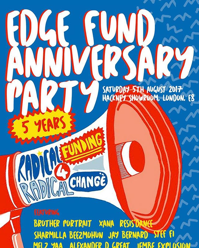 Come down to @hackneyshowroom this Saturday from 5pm-11pm where we will be serving our delicious saj to celebrate Edge Fund's 5th anniversary party. Expect an amazing line-up of talent, great people and fantastic food of course! Get your tickets: http://bit.ly/2eOU6Tq #food #summer #foodie #sajlondon #london #hackney #party #middleeast #levant #lebanon #syria #palestine #activism #foodforthought