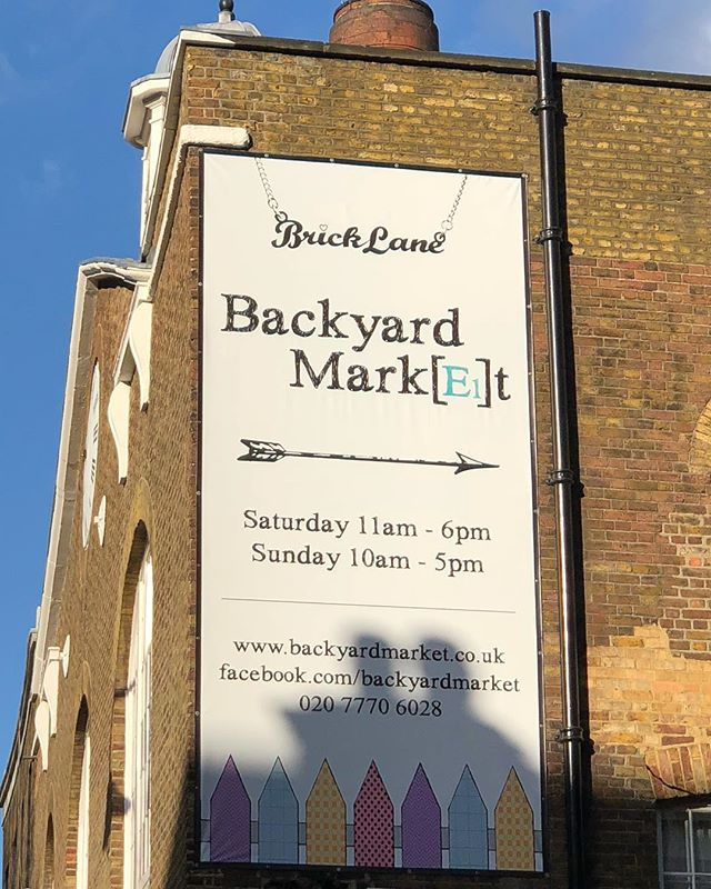 ☀️ Good morning! ☀️We'll be at #Backyardmarket on Brick Lane today from 10am-5pm!! Come grab yourself a freshly baked saj before they run out! #streetfood #market #popup #london #bricklane #saj #beirut #food #soulfood