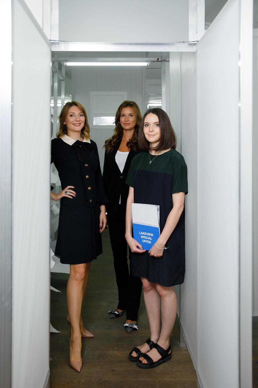 Анастасия Карнеева, Екатерина Винокурова и Светлана Шуваева