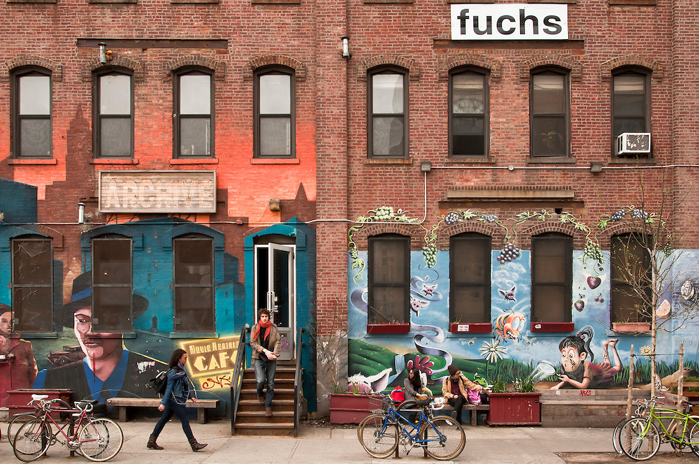 Since the late 90s, Bushwick has become a home for artists from around the world. Take a look around, and you'll see for yourself that culture and art is not lacking in this neighborhood.