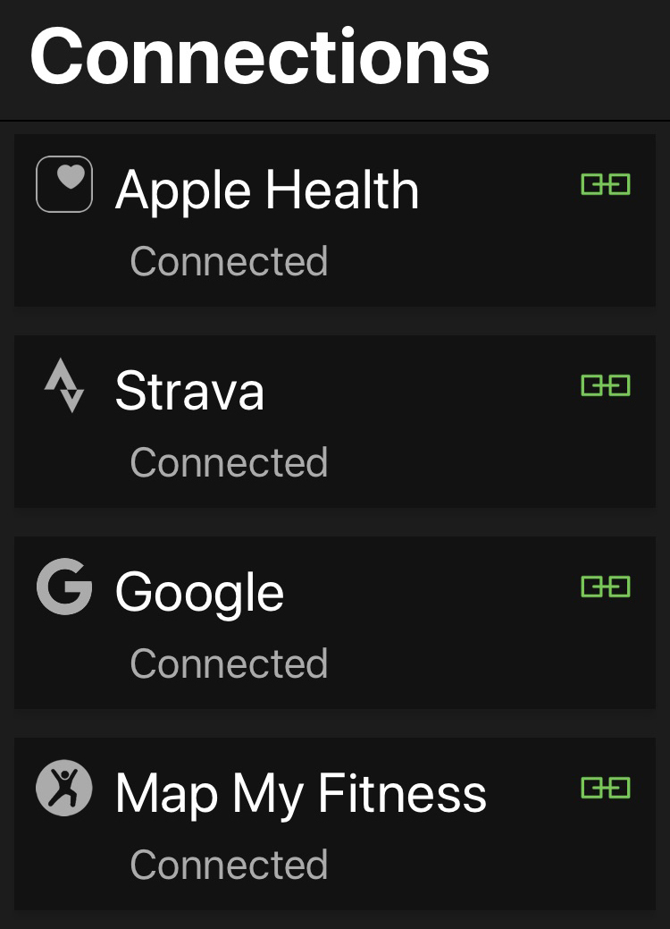 Most training apps support direct-export to Strava accounts.