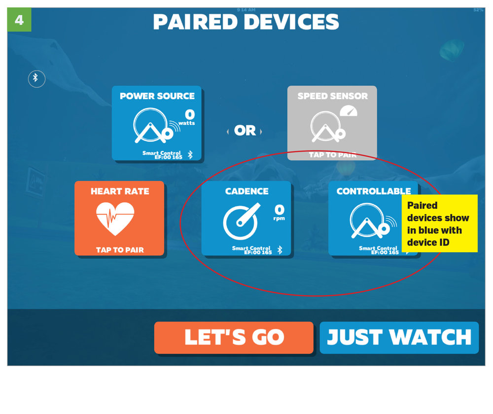 Step 4: Review Paired Devices