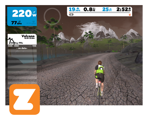 Kinetic Zwift Cycling App