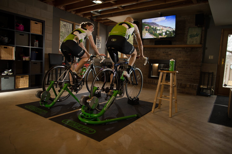 Kinetic — How Successful Riders Set Up Their Indoor Training