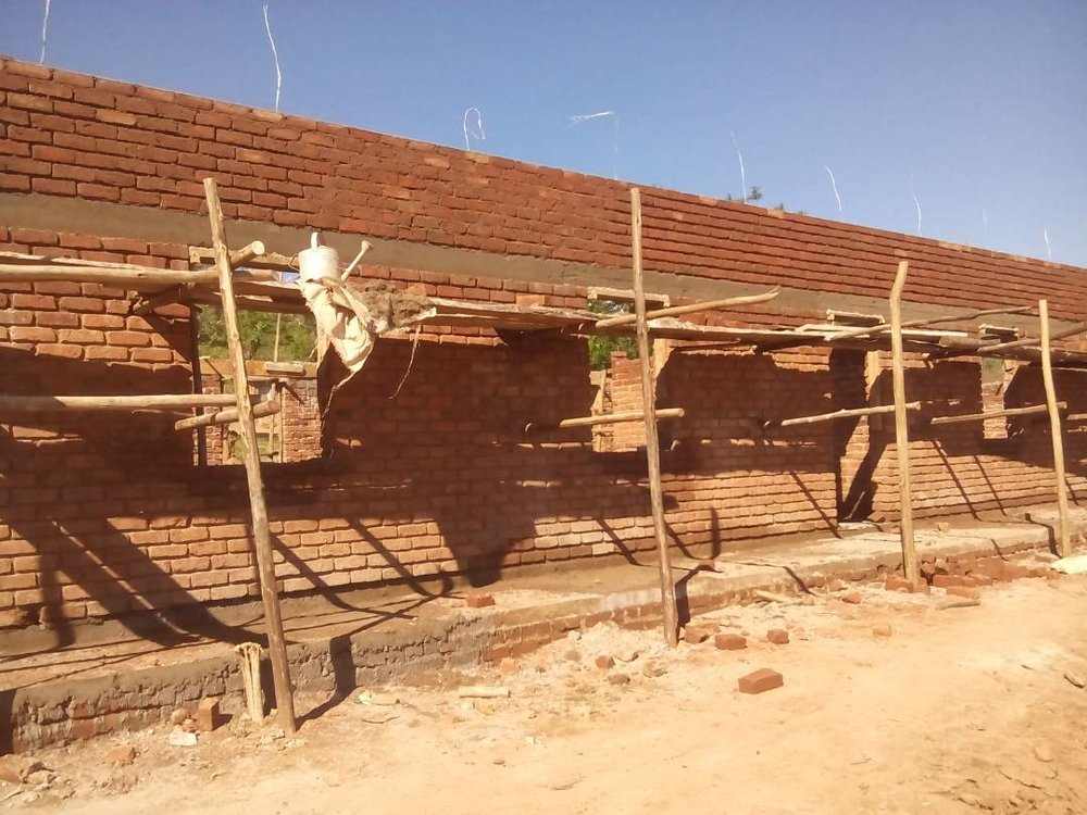 Our school in Malokotera, Malawi is on schedule for an official opening in April