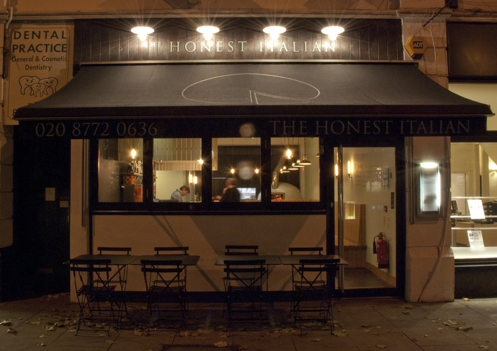 The Honest Italian. 13 Station Parade,   SW12 9AZ