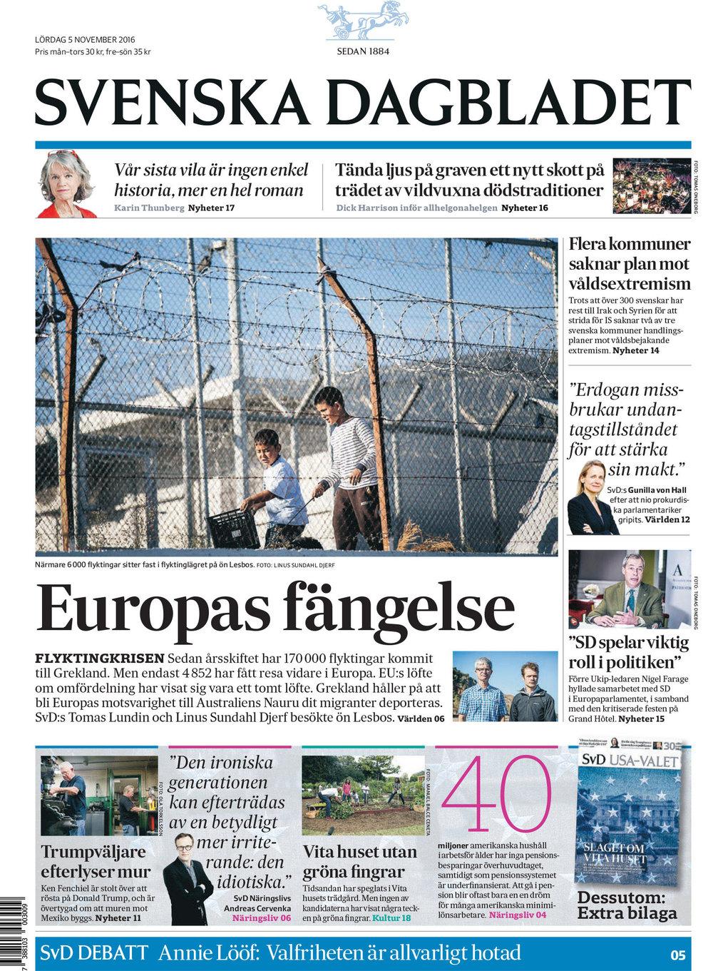 Svenska Dagbladet, Sweden