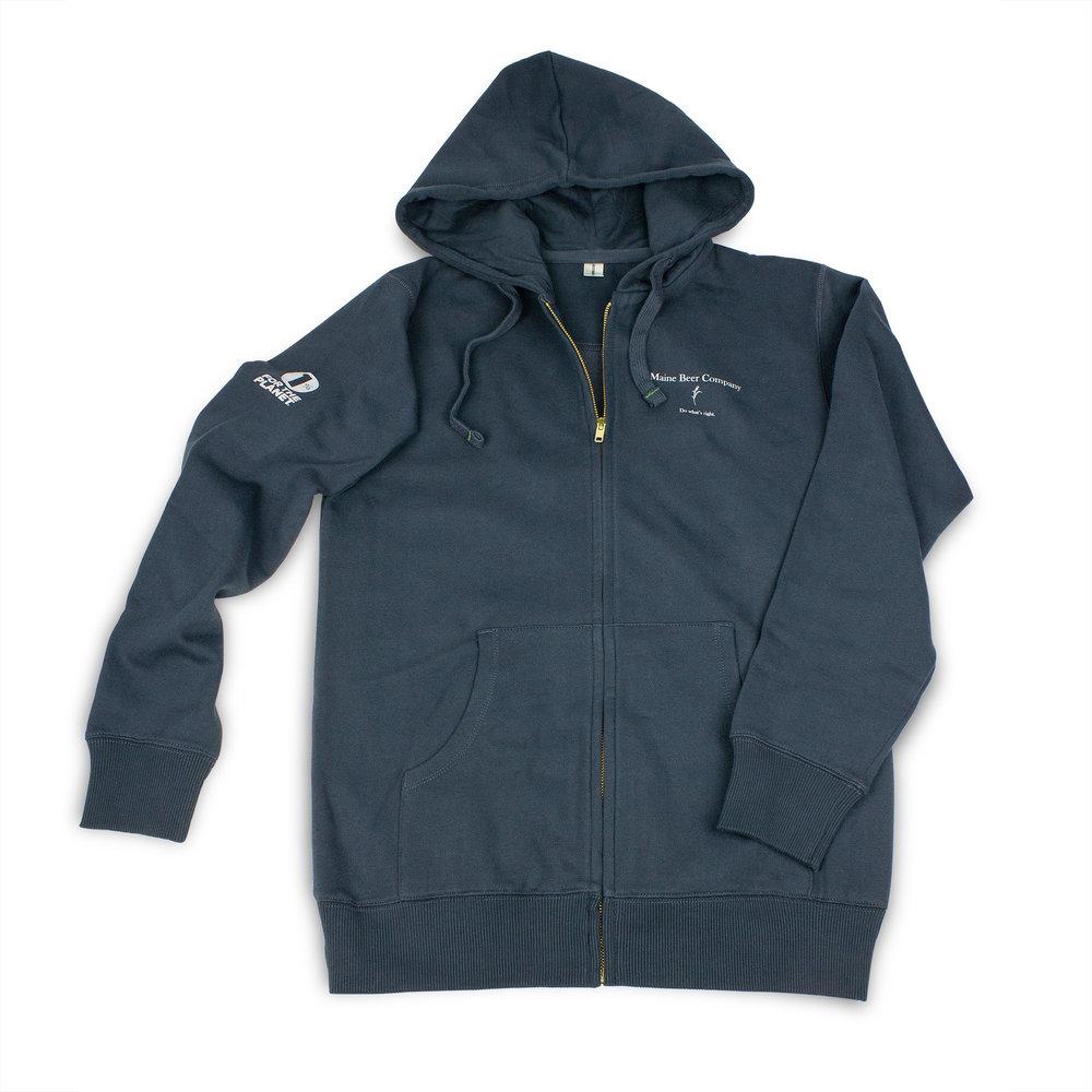 cf74e2eb6 Zip Up Hooded Sweatshirt — Maine Beer Company