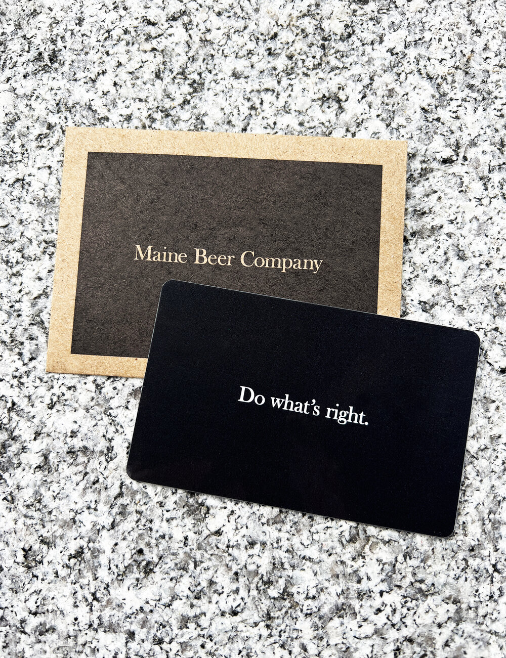 Gift Certificate To The Tasting Room Maine Beer Company
