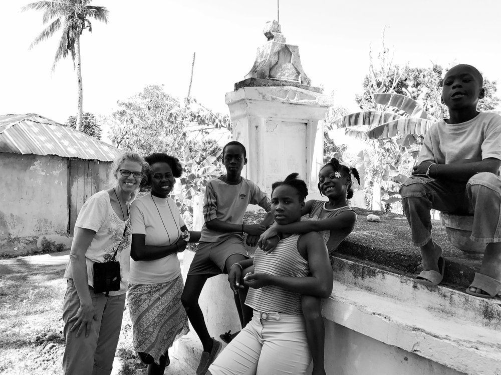Family Visit in Les Cayes