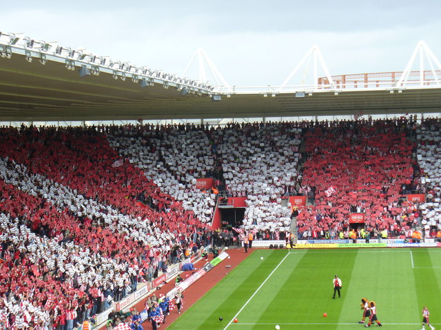 Southampton's St. Mary's Stadium. Ali Dia proudly wore the red and white stripes for 58 minutes before being sussed out.