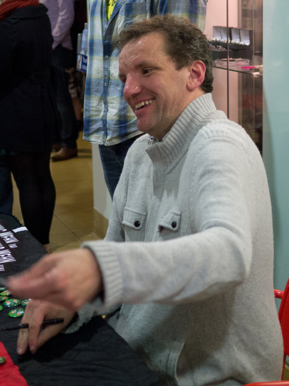 Using an accent to your advantage: Comedian Henning Wehn