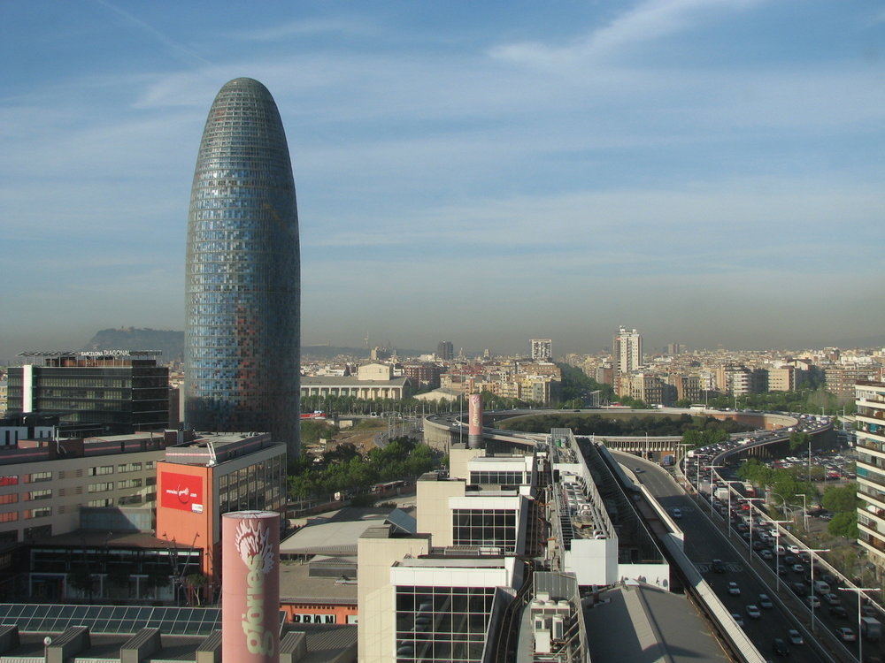 Torre Agbar and Glòries: Barcelona's hub for design, technology and commerce.