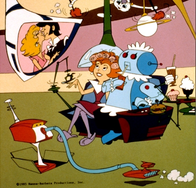 The Jetsons: Even the robot maid gets some down time