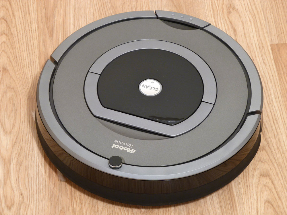 Roomba: Credits include Breaking Bad and YouTube cat videos