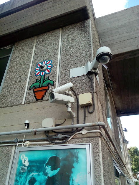 Planting some cameras: CCTV in London.
