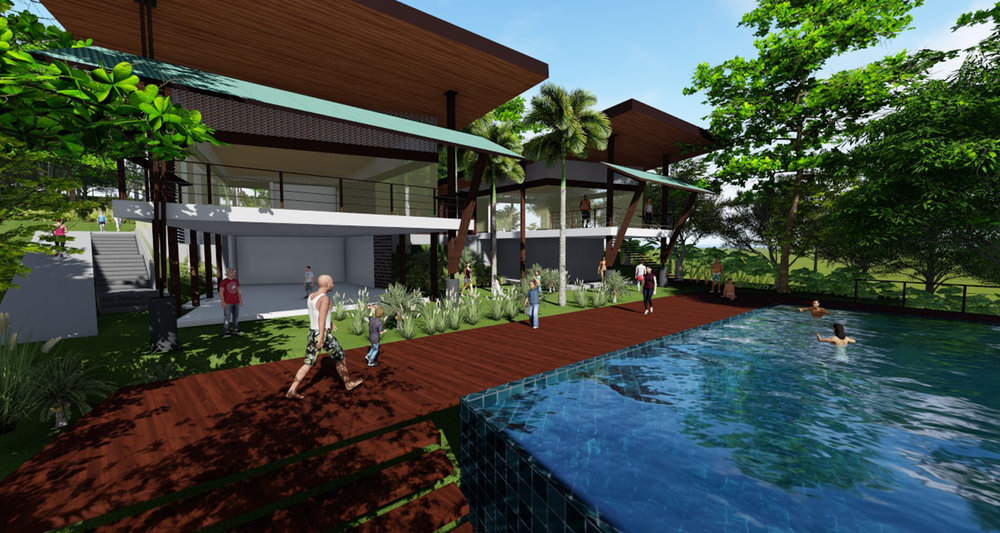 Casa Club Green City - Alajuela, Costa RicaLEED NC - v2009 - LEED Plata400m2