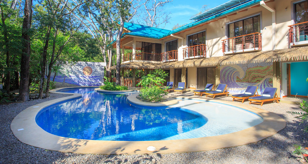 Hotel Olas Verdes - Guanacaste, Costa RicaLEED NC -v2009 -LEED Platino1.129 m2