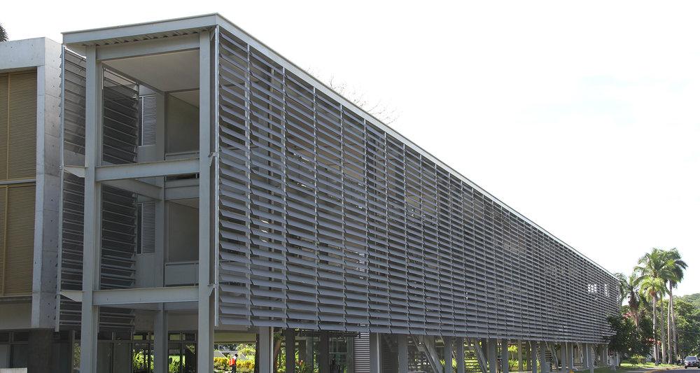Dormitorios Ciudad del Saber - Ciudad de Panamá, PanamáLEED NC -v2009 -LEED Platino5.734m2
