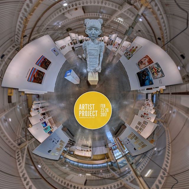 Our 360º VR Experience of the @artistprojectto is now live! Take a look at -- liberty360.ca/ArtistProject/2017/360.html  #TheArtistProject #TorontoArt #ContemporaryArt #Art #Tonroto #FB360 #VirtualReality #ImmersiveMedia #VR #360Photography #360VR #DigitalMedia #Liberty360 #Artist #EmergingArtist