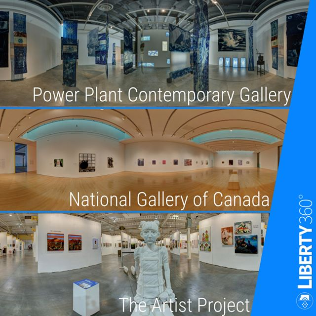 Art Galleries look great with a 360º perspective! Let the artwork be seen on an international level with an interactive 360º Virtual Tour of your gallery space! Take a look at some of the galleries and institutions we've already worked with. - - - -  #vr #360 #virtualreality #VRmedia #tech #canon #immersive #liberty360 #kingston #toronto # ottawa #photo360 #explorein360 #art #samsungvr #googlecardboard #research #virtualtour #virtualart #360lab #powerplant #nationalgallery #canada #artistporject #art  #canadianart