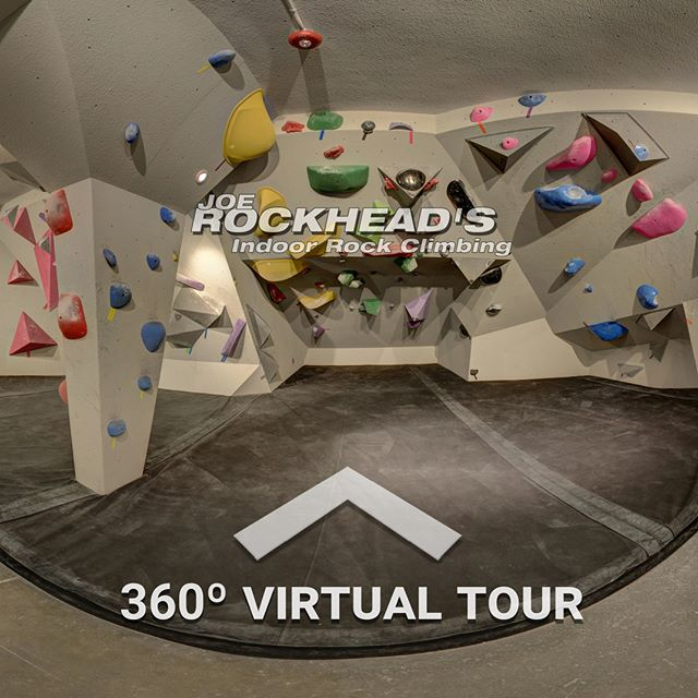 Have you been rock climbing before 🧗‍♂️? Why not go check out the new renovations at Joe Rockhead's Indoor Rock Climbing? --- Take a look at the full Virtual Tour here: http://liberty360.ca/JRH/360.html  #vr #360 #virtualreality #VRmedia #tech #canon #immersive #liberty360 #kingston #toronto #ottawa #photo360 #explorein360 #rockclimbing #samsungvr #googlecardboard #research #virtualtour #virtualart #360lab #joerockheads #boulder #climb #canada #virtualgym