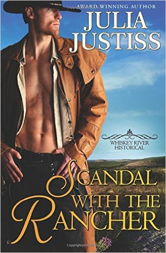 Scandal with the Rancher - a Texas historical western romance novel