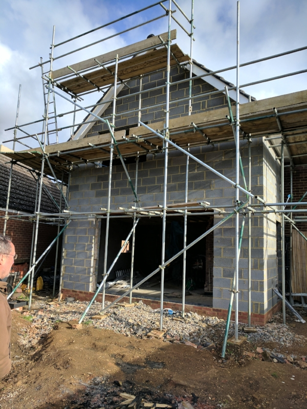 small-extension-scaffolding-cambridgeshire
