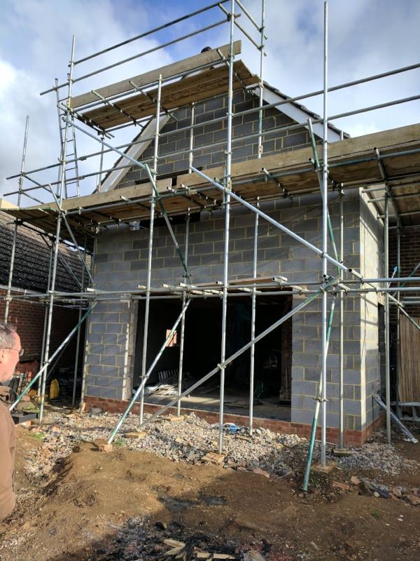 small-extension-scaffolding-cambridgeshire