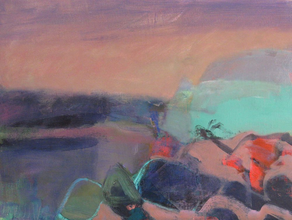 Headland • Oil on Board • 50x70cm • POA