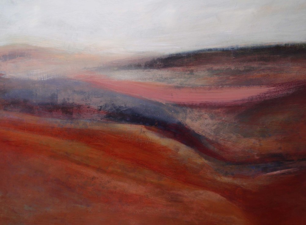 Magical Moorland •  Oil on Board •  70x 100cm •  POA