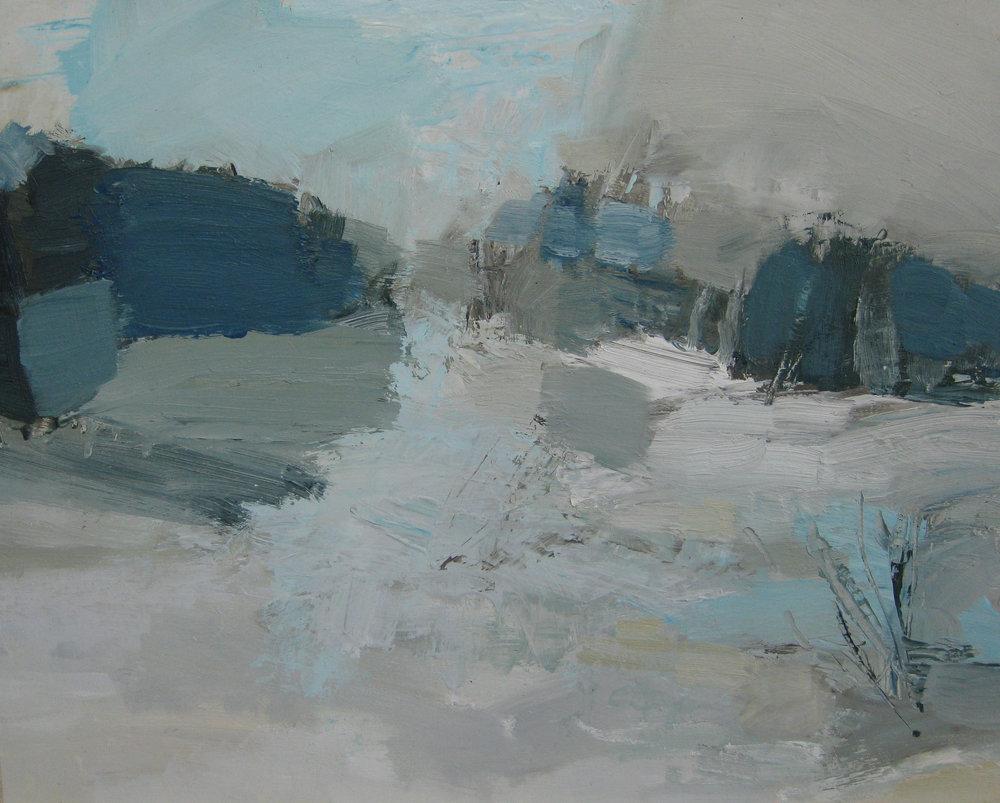 Winter Passage • Sold