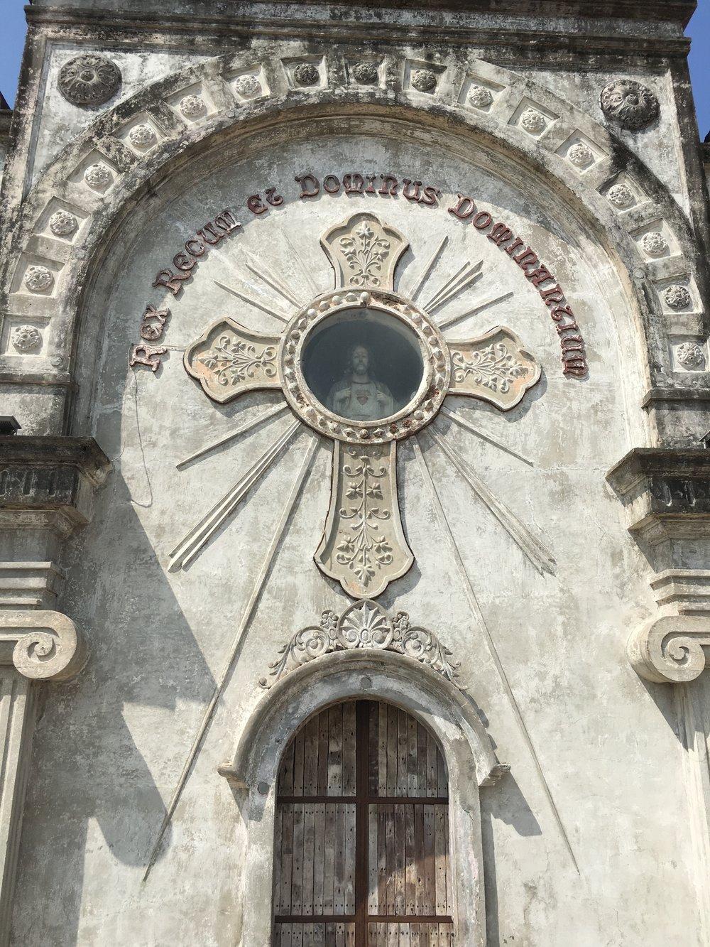 Closer View of Church