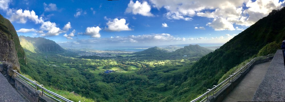 Nu'uanu Pali Lookout - Wonderful view that you give your legs a rest and drive to!