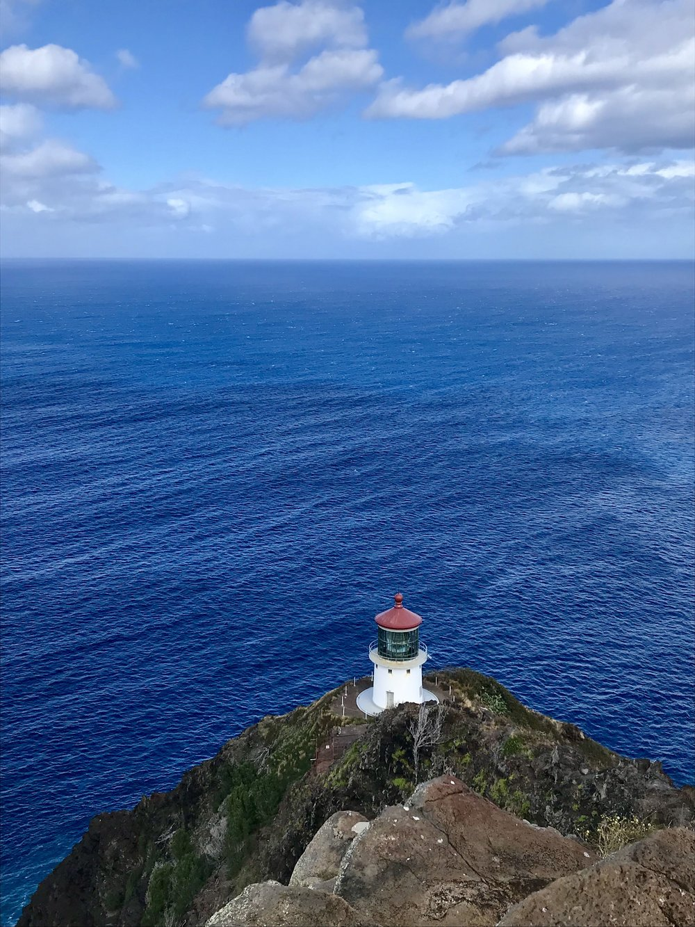 Makapu'u Lighthouse - Paved asphalt trail all the way to the top! Popular hike to spot some whales!