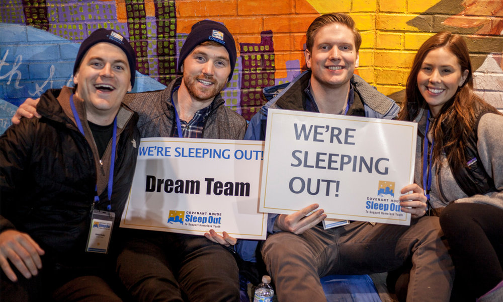 covenant house sleep out non-profit partner