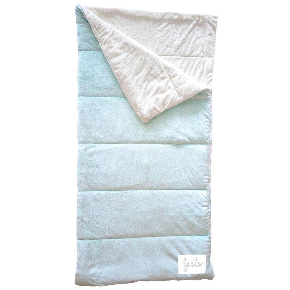 Extra Cozy Sleeping Bag in Glacier Mint - $75.00