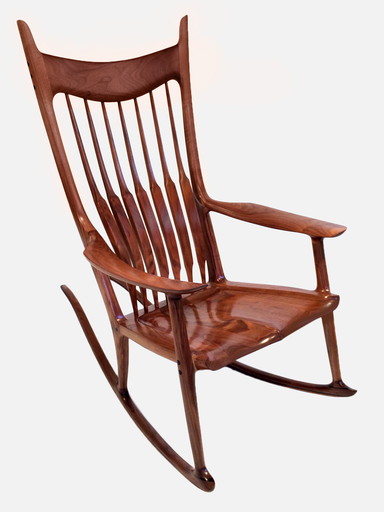 Rosewood rocker by Sam Maloof