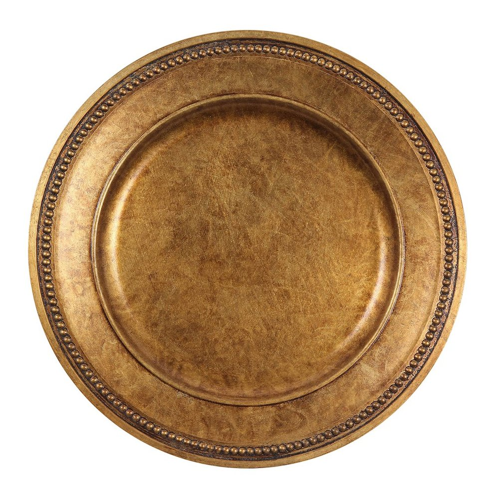 Gold Mosaic Charger By Ashland™ - This lovely centerpiece is a a great addition to your table top. Adorn with with candles, or warm colored floral arrangements for a rustic fall feelMichaels