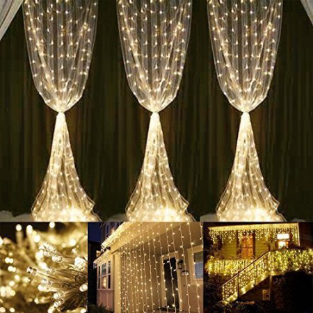 Curtain Decoration Lights - Go bright and vertical! These draping lights add a noticeable but subtle touch to your home. Hang these lights on your curtains, stair rails, or outside your patio to accentuate your less thought about parts of your home.