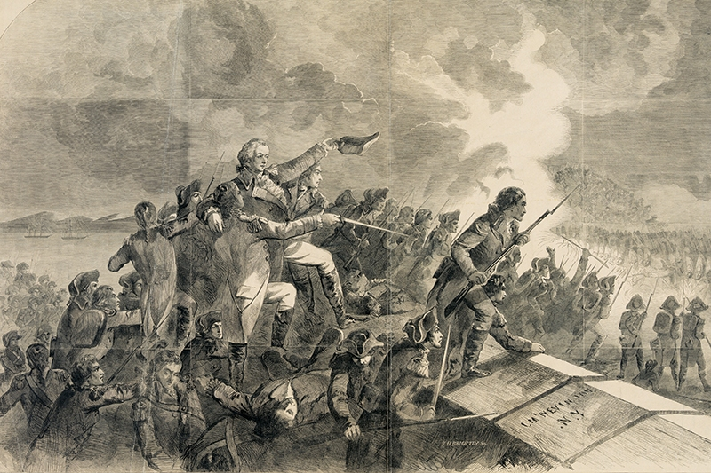 Battle of stony point 1779