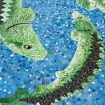 Sturgeon Mosaic, detail