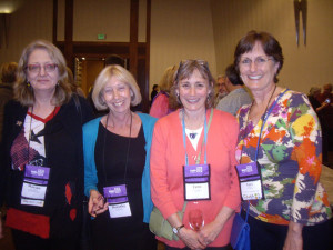 Lori and I with our Australian friends Marian Shapiro and Dorothy Burke.