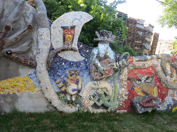 Mosaic musician animals!