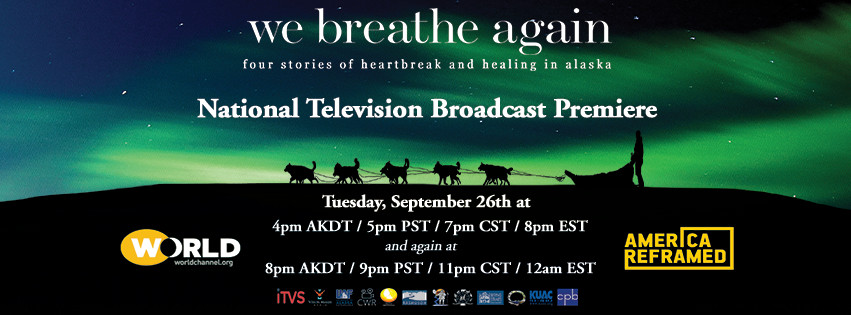 National Television Broadcast Premiere     Tuesday, September 26, 2017 America ReFramed on the WORLD CHANNEL