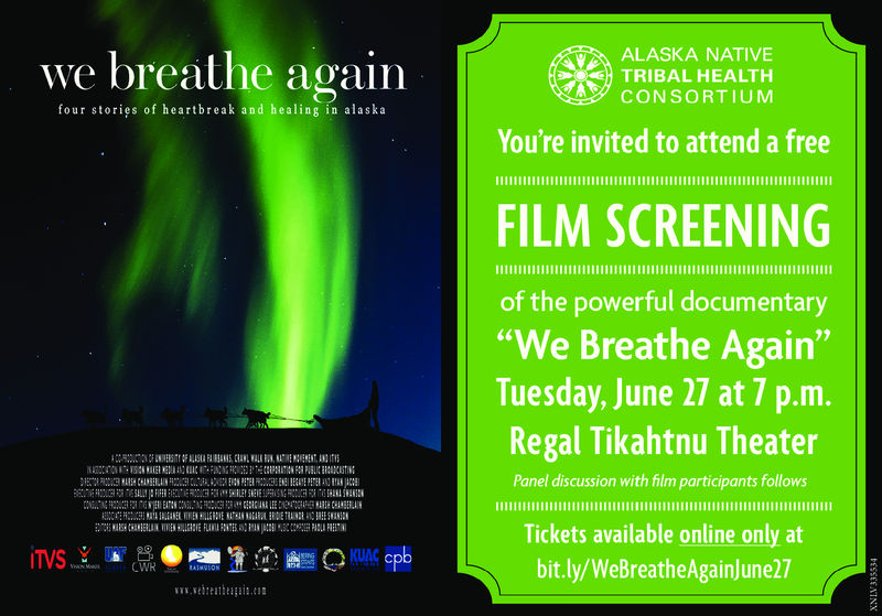Anchorage, Alaska Premiere    Tuesday, June 27, 2017