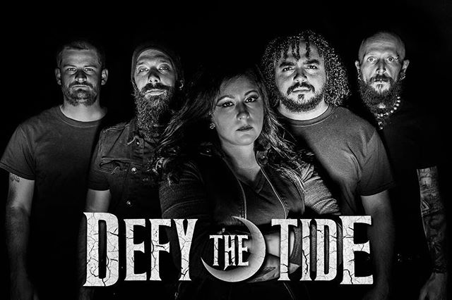 @defythetide has a new face in the band. Welcome on bass @weirtonsworst (Jeff Young) formerly of @unitedbyhateofficial and @whatgreatfangs . We are so delighted to have him as a part of our lineup and family! Jeff brings A TON to the table! Give Jeff some love and give him a strong Defy the Tide welcome 🖤🤘🏻🖤 📸: @synaestatic (Stephani Nichelle) . . . @cbentertainment1 #defythetide #cbentertainment #metal #rock #photography #blackandwhite #wewillrockyou #worldwide #comingforyou