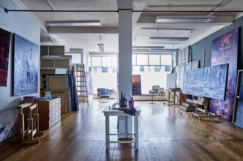 Mein Atelier und der Lappenbergsallee