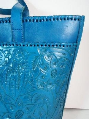 bae7aabf6 Long Rope Guadalajara TURQUOISE Hand Tooled Leather Mexican Western Style  Purse. IMG_3957.JPG. IMG_3958.JPG. IMG_3959.JPG